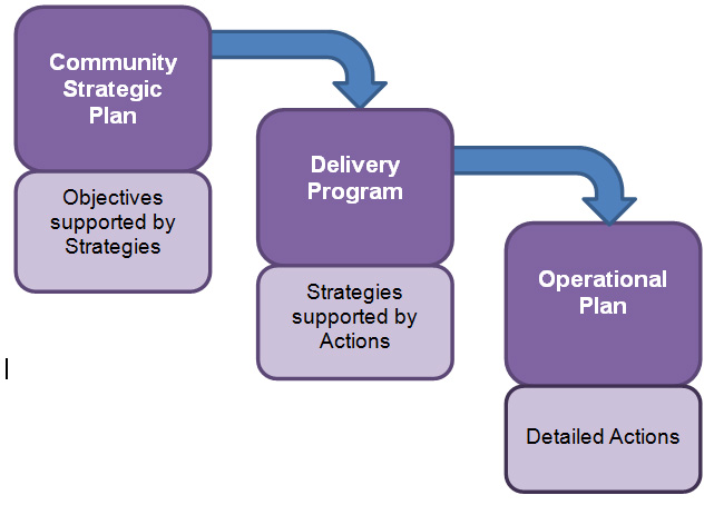 community strategic plan diagram