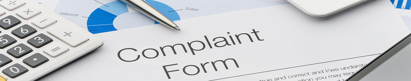 Complaint form OLG