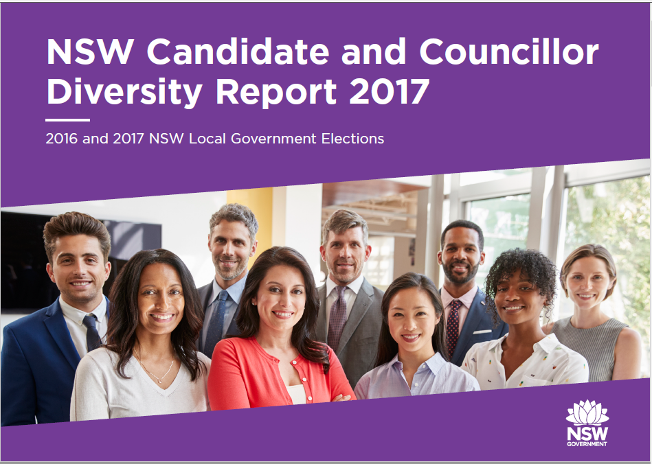 Candidate and Councillor Diversity Report 2017 - Report Cover image